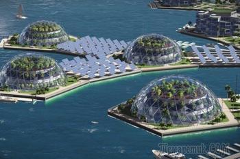 Плавучие города — престиж богатых. Искусственные острова из всего мира