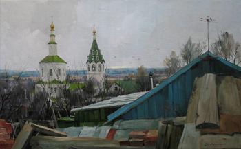 Художник Алескей Савченко