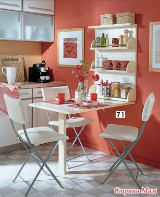 Идеи интерьера для крошечных кухонь. Каждый сантиметр в дело