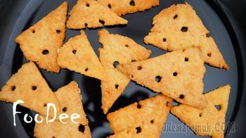 Всего 3 ингредиента и никакой возни - Соленые сырные крекеры