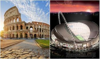 8 впечатляющих стадионов мира: от амфитеатров Древнего Рима до суперсовременных спортивных арен
