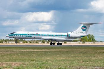 Последний Ту-134: репортаж с аэропорта Толмачёво