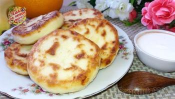 Сырники с настоящим творожным вкусом, без муки и разрыхлителей