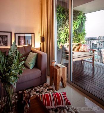 Интерьер квартиры в Сингапуре