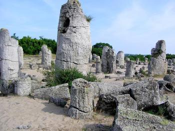 Болгарское побережье Черного моря 24. Побитите камни – удивительный природный феномен