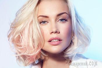 Цвет волос клубничный блонд — Трендовое окрашивание 2017
