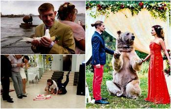 Колоритные снимки, которые позволят прочувствовать всю атмосферу русских свадеб