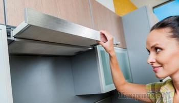 Как отмыть вытяжку и фильтр кухонной вытяжки от жира