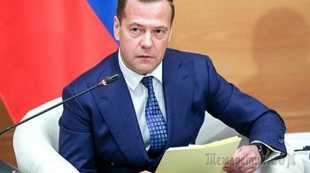 Медведев сравнил стоимость американского и российского газа