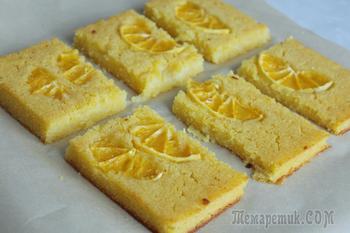 Постный апельсиновый пирог из 4 ингредиентов!