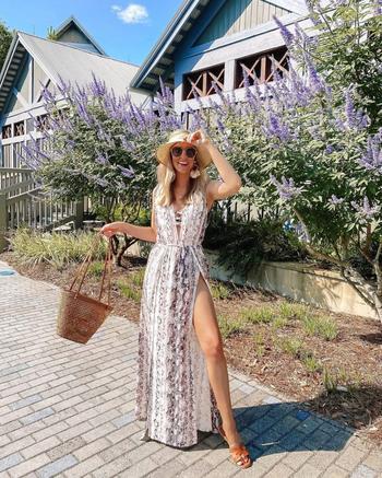 Шикарные летние платья в пол