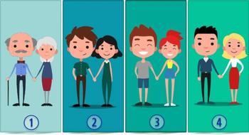 Выберите счастливую пару и узнайте о своих ценностях в любви
