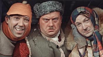 На съемках популярных советских фильмов