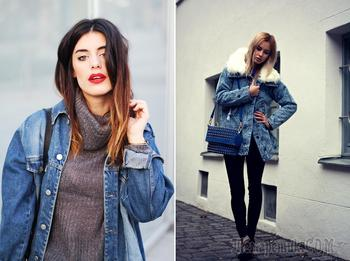 С чем носить джинсовую куртку?