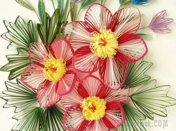 Красивые цветы в технике квиллинг. Как делать цветы в стиле квиллинг