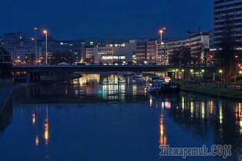 Прогулки по ночному городу  SAARBRÜCKEN