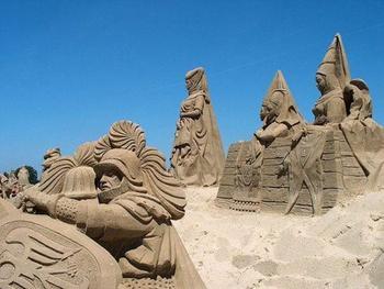 Невероятные песочные скульптуры, которые вам стоит увидеть