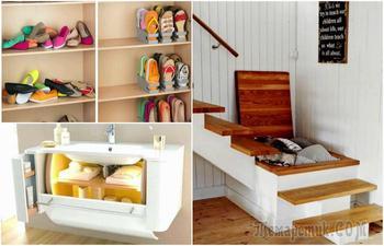 17 идей, которые помогут организовать место хранения мелочей в квартире, где почти нет места