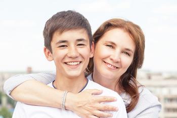 Как маме с сыном установить прочную связь