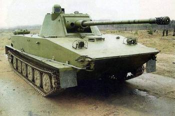 ПТ-76 – советский танк-амфибия