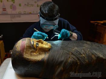Современные технологии позволяют узнать самые сокровенные секреты мумий