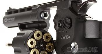 Описание характеристик пневматического пистолета Gletcher SW B4