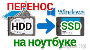 Как скопировать текущую версию Windows на SSD