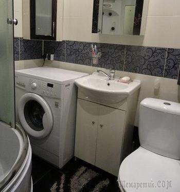 """Ванная: """"Старались все сделать в стиле """"дешево и сердито"""""""