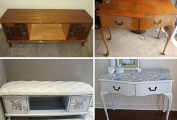 Как эффектно переделать старую советскую мебель