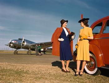 1940-е в цветах Кодахром