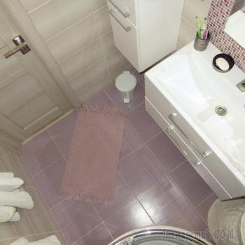 Ванная: благородный розовый