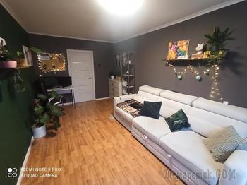 Перевоплотили квартиру «с глубоко советским ремонтом» всего за 12 тысяч рублей
