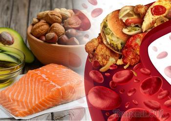 12 Продуктов снижающих холестерин и очищающих сосуды