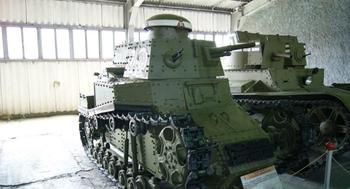 МС-1 - первый массовый танк Красной армии
