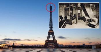 В Эйфелевой башне есть секретная комната. А Вы знали об этом?