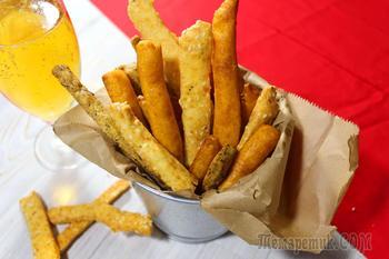 Сырные палочки с 3 вкусами- самая простая и вкусная закуска.