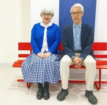 10 пожилых пар, которые умеют одеваться стильно и со вкусом