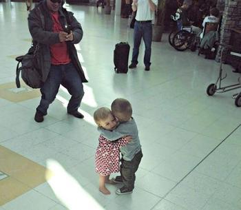 Забавные фотографии, снятые в аэропорту