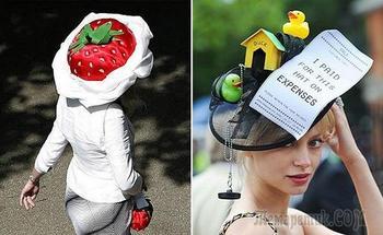 18 забавных головных уборов, которые можно увидеть на улицах города