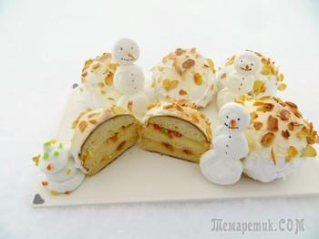 Позавидует даже Дед Мороз! Булочки - снежки, сказочная выпечка!