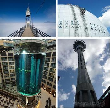 Впечатляющие лифты со всего мира