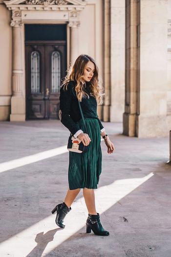 Юбки из трикотажа: как и с чем носить?
