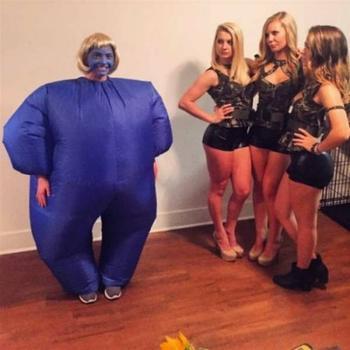 Вы уже приготовили костюм на Хэллоуин?