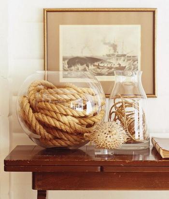 Интересные идеи декора из каната и верёвки