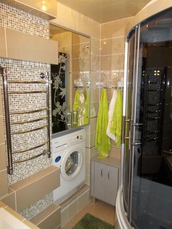 Как увеличить площадь ванной комнаты за счет коридора