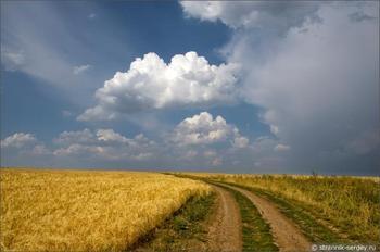 Небо в августе
