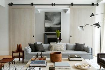 Натурально стильный интерьер апартаментов в Нью-Йорке