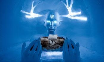 Ледяные чертоги: в Лапландии снова открылся знаменитый отель изо льда