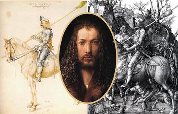 Какие символы зашифровал Дюрер на жутковатой гравюре «Рыцарь», и Почему говорили, что им двигал страх кончины