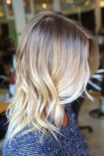 Окрашивание балаяж на светлые волосы — Современная и безопасная техника
